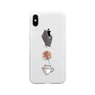 「似非」紳士の嗜み Soft clear smartphone cases