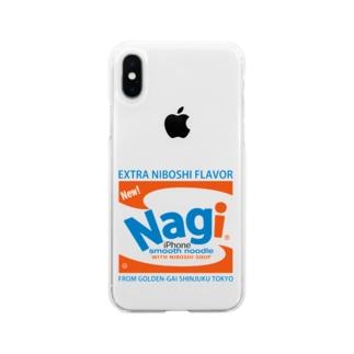 凪Brillo Soft clear smartphone cases