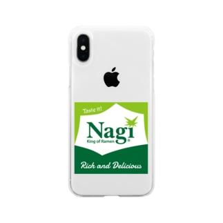 凪スプライト Soft clear smartphone cases