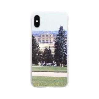 オーストリア:シェーンブルン宮殿 Austria: Schloss Schönbrunn / Wien Soft clear smartphone cases