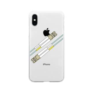 Fiber Soft clear smartphone cases