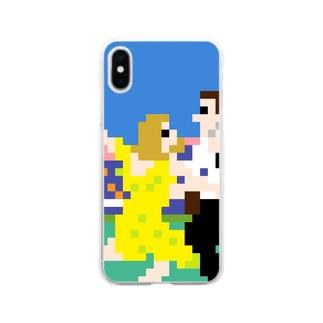 ミュージカル感 Soft clear smartphone cases