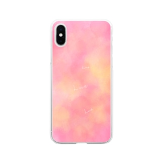 Love  Soft clear smartphone cases