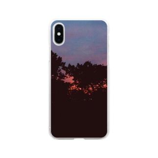 茜空 Soft clear smartphone cases