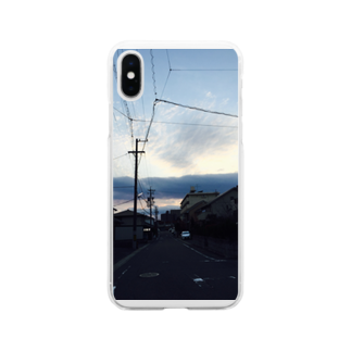 alpha8110の地元 Soft clear smartphone cases