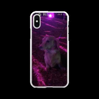 Swa86387072のミニチュアくん Soft clear smartphone cases