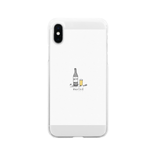 TKD.SEのアルコール中毒 Soft clear smartphone cases