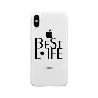 BestLifeグッズ3 Soft clear smartphone cases