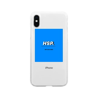 HSP.(blue) Soft clear smartphone cases