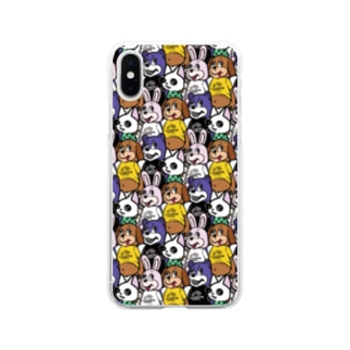ANIMALs 4th Soft clear smartphone cases
