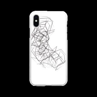 テゾーロショップのリッタイクン Soft clear smartphone cases