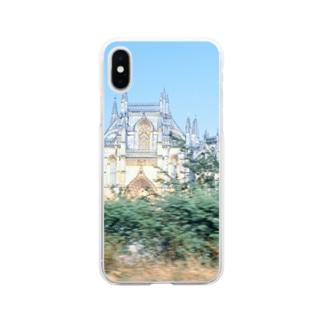 ポルトガル:バターリャ修道院 Portugal: Batalha Monastery Soft clear smartphone cases