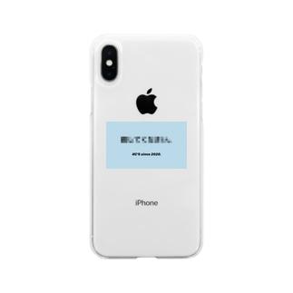 自主規制 Soft clear smartphone cases