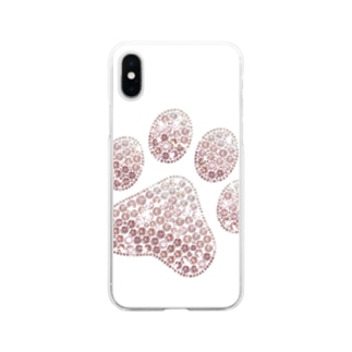 肉球 Soft clear smartphone cases