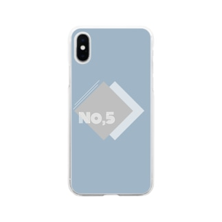 No.5 Soft clear smartphone cases