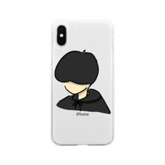 マッシュボーイ Soft clear smartphone cases