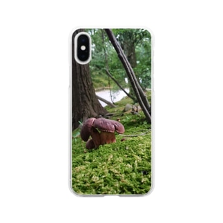 Mushroom vol.1 Soft clear smartphone cases