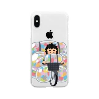いらすと屋さん Soft clear smartphone cases