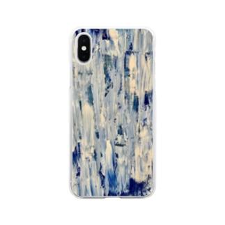 青の逆襲 Soft clear smartphone cases