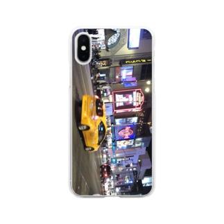 ロサンゼルス  Soft clear smartphone cases