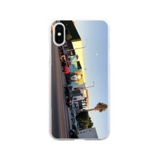 LA Soft clear smartphone cases