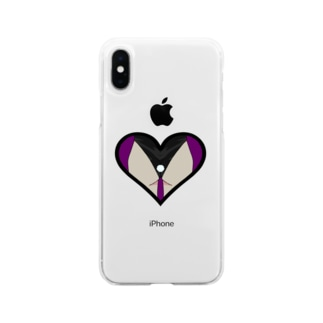 ばにー Soft clear smartphone cases