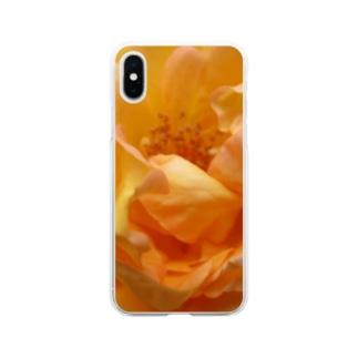 幸せの道しるべ Soft clear smartphone cases