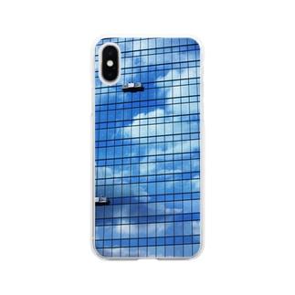 空ビル Soft clear smartphone cases