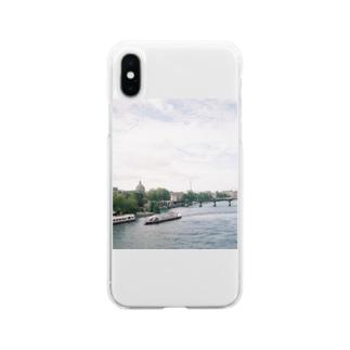 セーヌ川 Soft clear smartphone cases