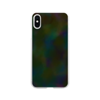 colorful 渋い Soft clear smartphone cases