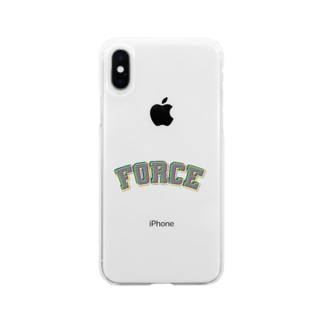Force Soft clear smartphone cases