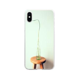 ねぎぼうず Soft clear smartphone cases