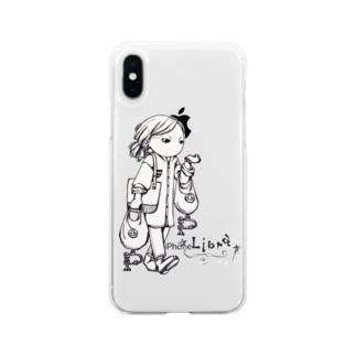 アクセな12星座 天秤座 Soft clear smartphone cases