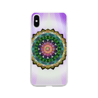 ひとつのインバチェンス Soft clear smartphone cases