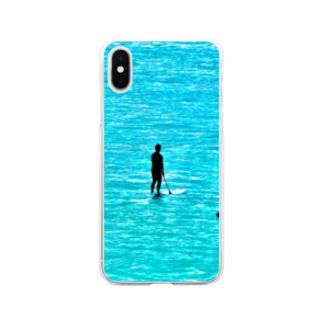 nkotの海乗り達 Soft clear smartphone cases