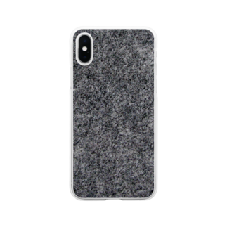 fuseishisekizaiの庵治石 Soft clear smartphone cases