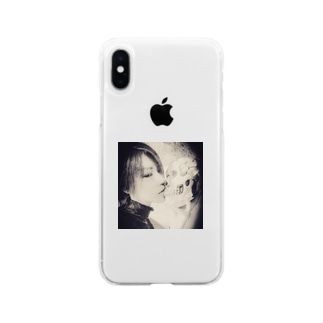 お耽美なものたち Soft clear smartphone cases