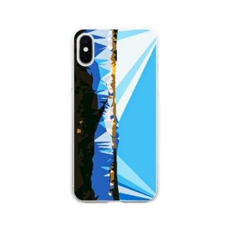 鳥海 Soft clear smartphone cases