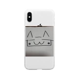 ゴロニャーちゃん Soft clear smartphone cases