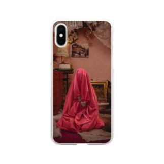 Satin bag Hinako Soft clear smartphone cases