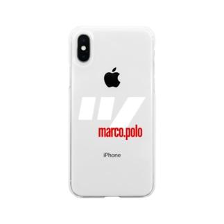 ツ.marco.polo Soft clear smartphone cases