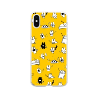 まごえくん2 Soft clear smartphone cases