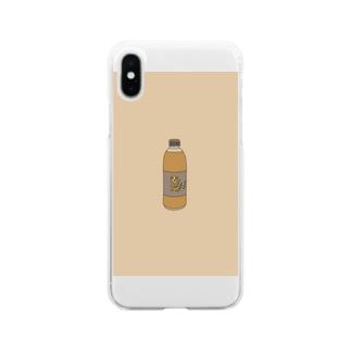 麦茶 Soft clear smartphone cases