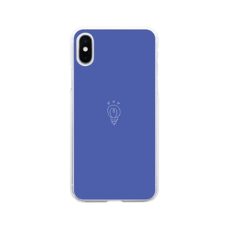 ちいさなあかり Soft clear smartphone cases