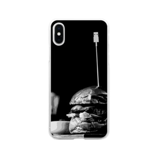 USBburger Soft clear smartphone cases