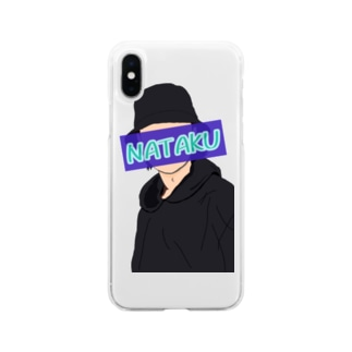 古着屋NATAKUオリジナル Soft clear smartphone cases