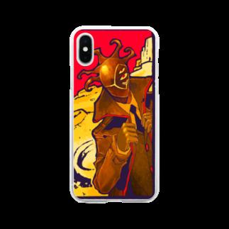 鳴蚊嶋-五連の異星遠征 Soft clear smartphone cases