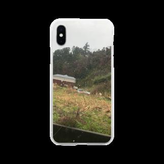 Pakiraの雪やん Soft clear smartphone cases