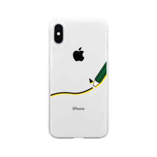 play_imageの【accident 1】pokipoki Soft clear smartphone cases