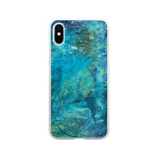 犬野温森の海底ひゃくおくまんキロメートル Soft clear smartphone cases
